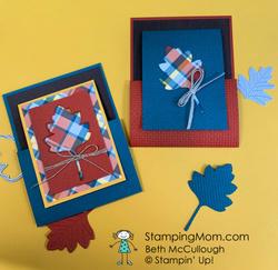Autumn joy fold cards