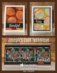 Joseph coat technique collage