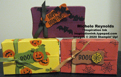 Banner year candy parcels