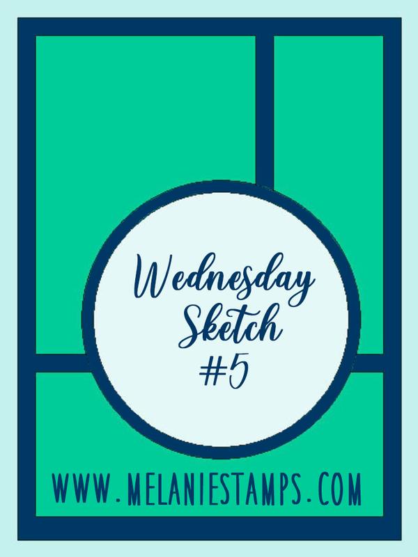 Wednesday sketch  5 melaniestamps stampin up edited 1