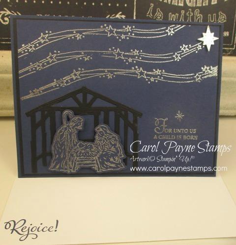 Stampin up peaceful nativity carolpaynestamps1