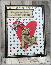 Pampered pets stampin up tina zinck