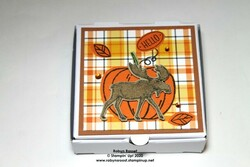 Merry moose pizza box