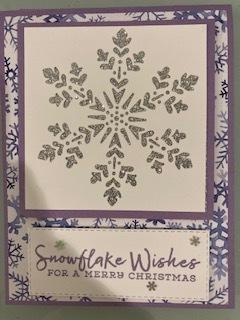 Purple snoflake