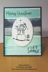 Snowman season ink spot background technique light tall