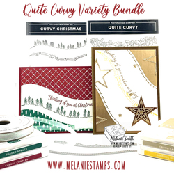 Curvy christmas and quite curvy bundle stampin up melaniestamps