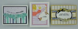 Quite curvy bundle   3 cards