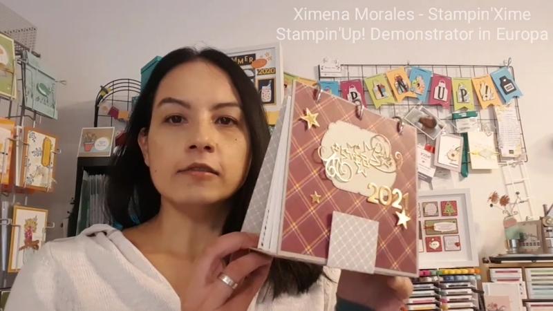 Stampin up tischkalender   fotoalbum