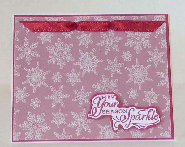 Winter snow cherry cobbler