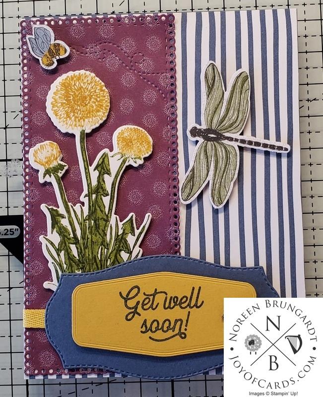 Garden wishes get well card  1