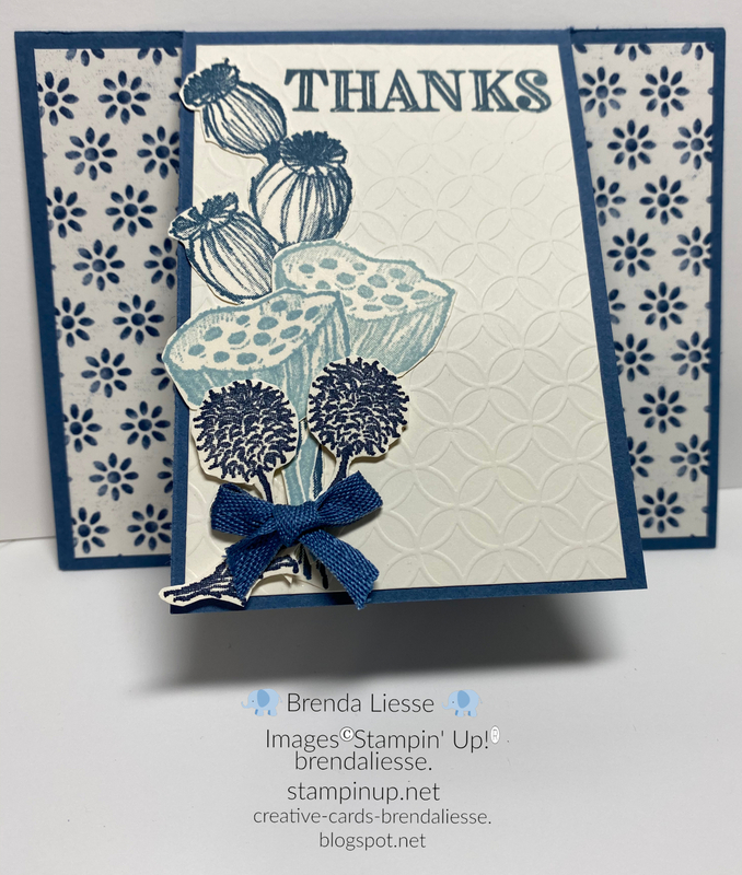 December blog hop thank you card