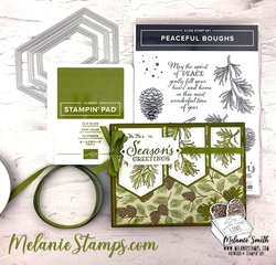 Su peaceful boughs stampin up melaniestamps5