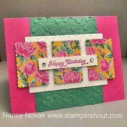 Postage punch bday card dec 10 newsletter