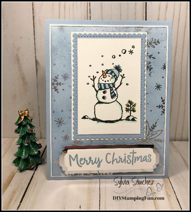 Z snowman xmas card  2