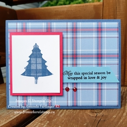 Plaid tree fromwhereistamp