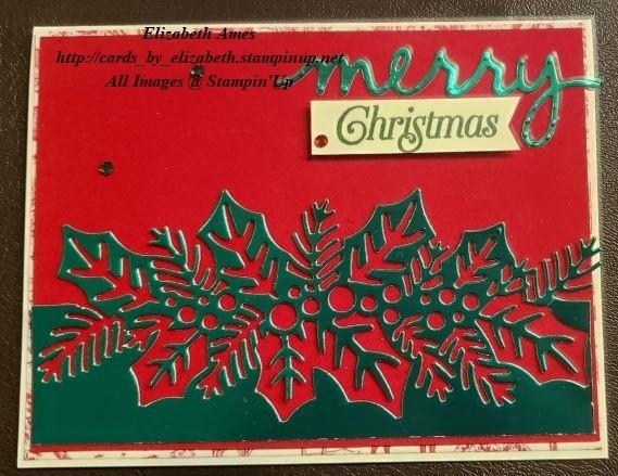 Merry red velvet christmas wm