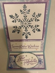 Snowflake easel