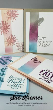 Stampin up masking technique