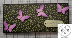 Wildly grateful butterfly card  2