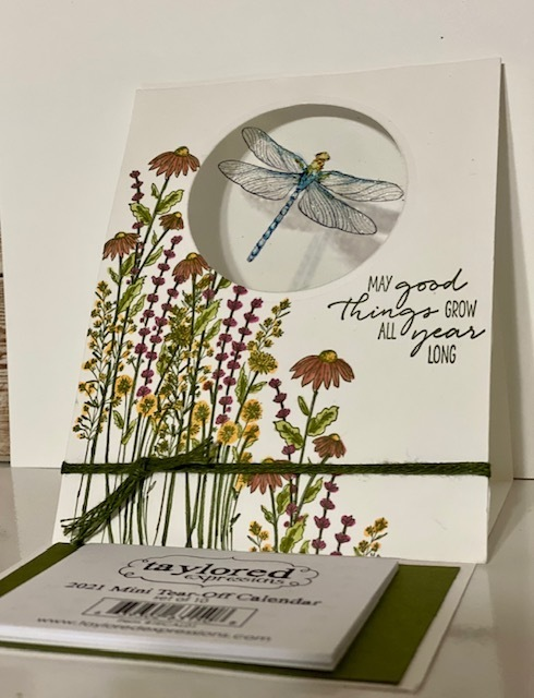 Dragonfly dream calendar