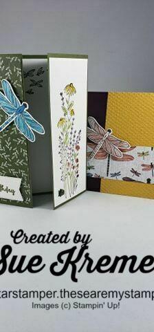 Stampin  up  dragonfly bundle north star stamper