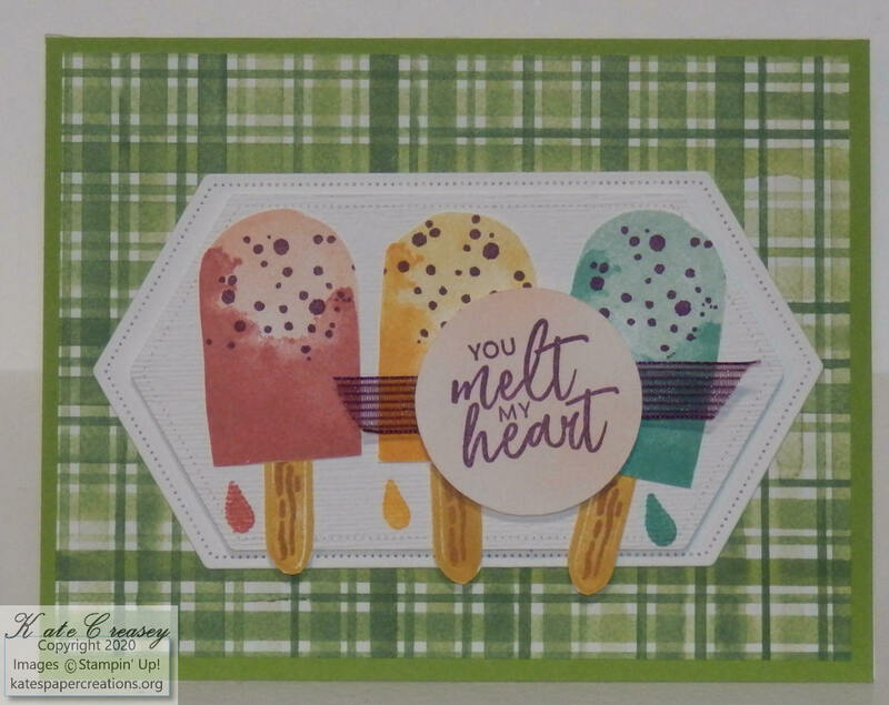 Sweet ice cream card
