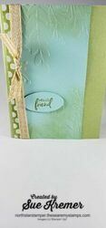 Stampin up a touch of ink north star stamper