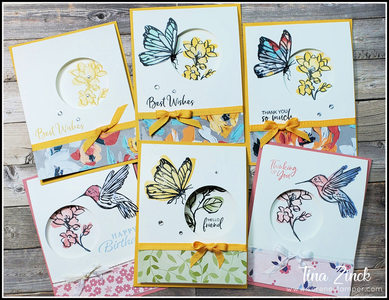 Six cards one easy layout tina zinck