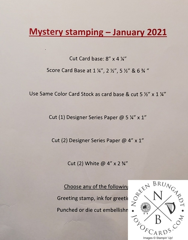 Mystery card january 2021  2