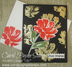 Stampin up art gallery gilded leafing carolpaynestamps1