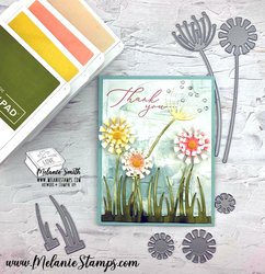 Garden wishes stampin up melaniestamps 2
