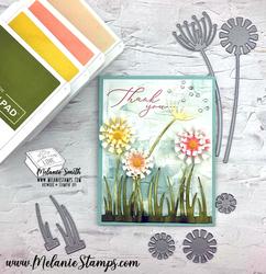 Garden wishes stampin up melaniestamps 2