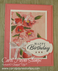 Stampin up happy thoughts carolpaynestamps1