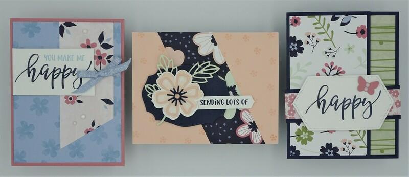 Pretty perennials bundle   3 cards