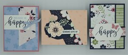 Pretty perennials bundle   3 cards
