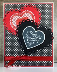 Red and black valentine