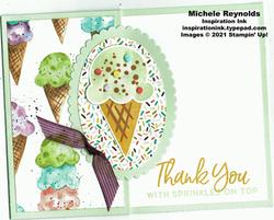 Sweet ice cream fun fold cone thanks watermark