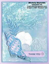 Friends are like seashells purple conch thanks watermark