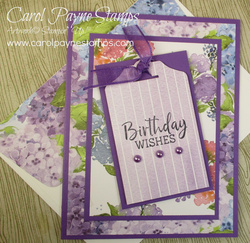 Stampin up fancy phrases hydrangea hill carolpaynestamps2