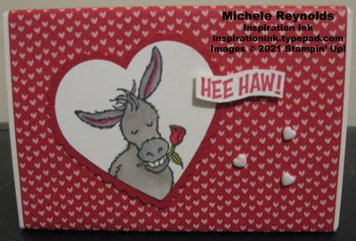 Darling donkeys hee haw treat box
