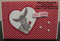 Darling donkeys hee haw treat box