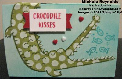 Oh snap crocodile kisses treat box