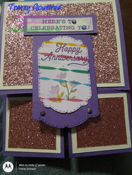Debora k 3 yr anniversary card