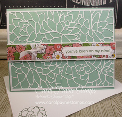 Stampin up simply succulents carolpaynestamps1