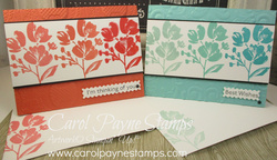 Stampin up art gallery ombre carolpaynestamps1