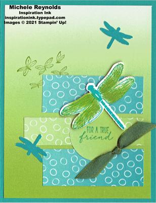 Dragonfly garden ombre friend watermark
