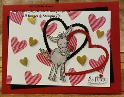 Darling donkey valentine wm