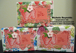 Sweet strawberry boxes for you