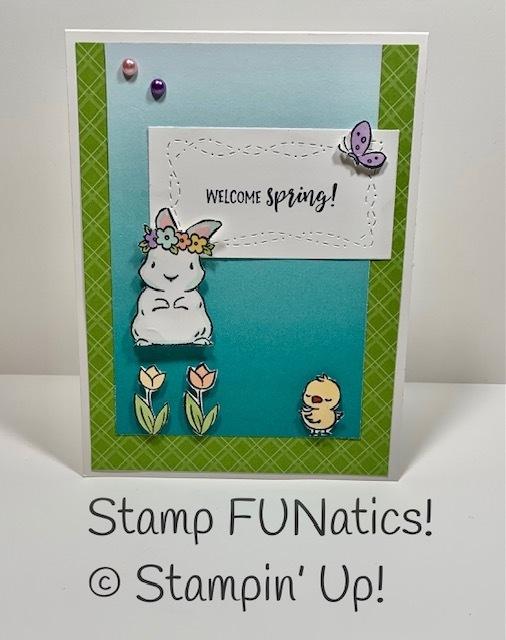 Springtime joy spring card