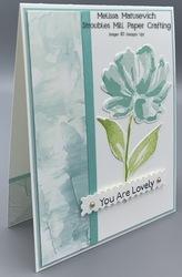 Fine art floral suite